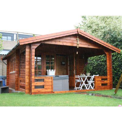 Afbeelding 26 van Azalp Blokhut, tuinhuisje of chalet op maat Duxwood