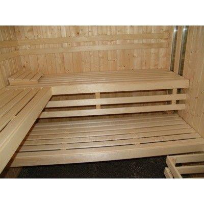 Afbeelding 12 van Azalp massieve sauna Alku 238x117 cm, 40 mm