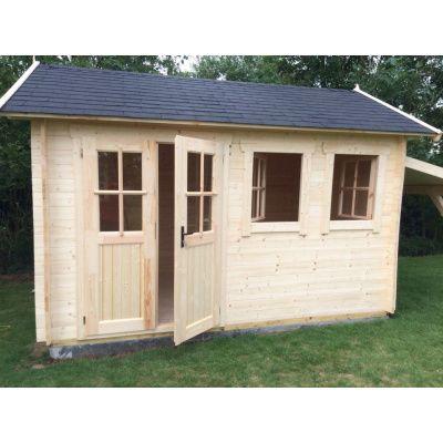 Bild 19 von Azalp Blockhaus Lynn 450x400 cm, 45 mm