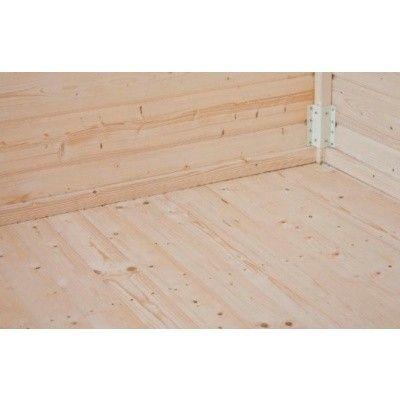 Hoofdafbeelding van Azalp Vloer met 30 mm planken voor chalet Vertical