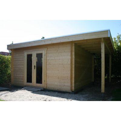 Afbeelding 3 van Azalp Blokhut, tuinhuisje of chalet op maat Duxwood