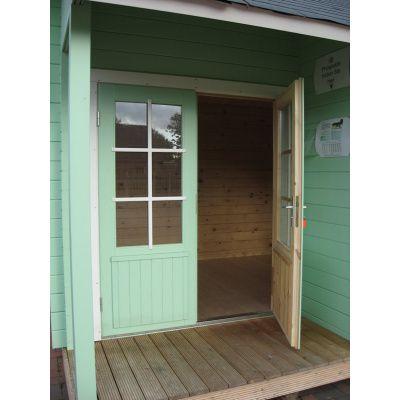 Bild 9 von Azalp Blockhaus Cottage Style Cumberland 520x430 cm, 45 mm