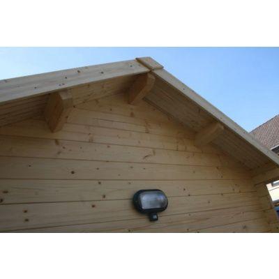 Bild 7 von Azalp Blockhaus Lis 350x350 cm, 30 mm