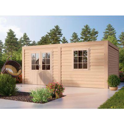 Hauptbild von WoodAcademy Sapphire Excellent Douglasie Gartenhaus 780x300 cm