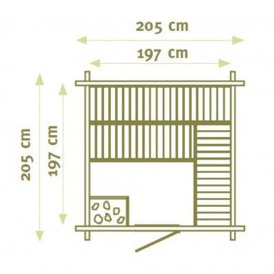 Afbeelding 2 van Interflex Sauna MS 1
