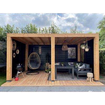 Afbeelding 9 van WoodAcademy Ruby Excellent Douglas Overkapping 500x400 cm