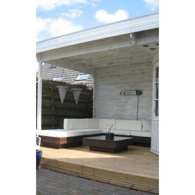 Bild 21 von Interflex Blockhaus 2556 Z, Seitendach 500 cm
