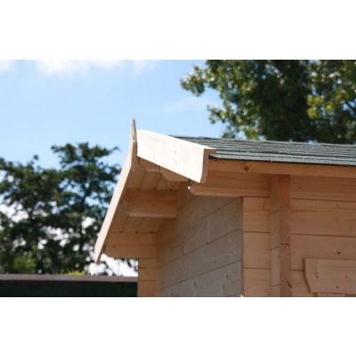 Bild 4 von Azalp Blockhaus Mona 350x400 cm, 30 mm