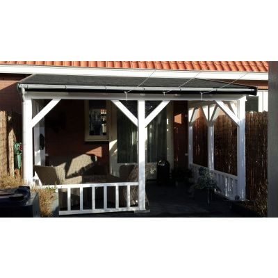 Bild 30 von Azalp Terrassenüberdachung Holz 600x250 cm
