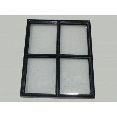 Hoofdafbeelding van Azalp Stalen raam vast, 500x600 mm