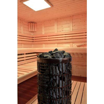Afbeelding 15 van Azalp Sauna Luja 240x240 cm, 45 mm