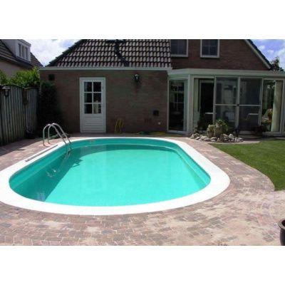 Afbeelding 16 van Trend Pool Boordstenen Tahiti 623 x 360 cm wit (complete set ovaal)