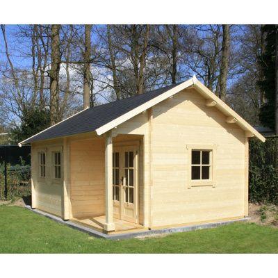 Afbeelding 8 van Azalp CLASSIC blokhut Cottage Style Cumberland 520x430 cm, 45 mm