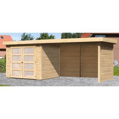 Hoofdafbeelding van Woodfeeling Leuven 3 met veranda 280 cm