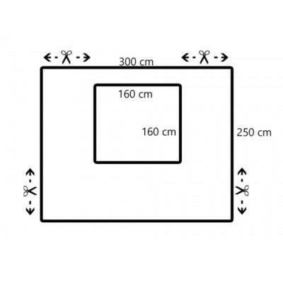 Afbeelding 14 van Azalp Verandazeil met raam 1.80-3.00 meter