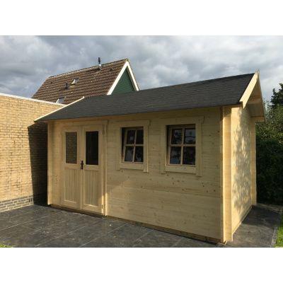 Bild 27 von Azalp Blockhaus Lynn 450x450 cm, 30 mm