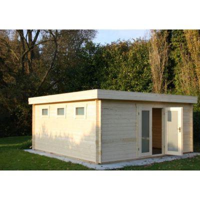 Bild 66 von Azalp Blockhaus Ingmar 350x400 cm, 45 mm
