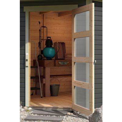 Afbeelding 5 van Woodfeeling Schwandorf 5 Terragrijs met veranda (77749)