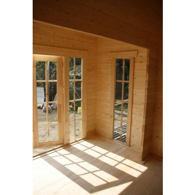 Bild 23 von Azalp Blockhaus Ben 600x750 cm, 45 mm