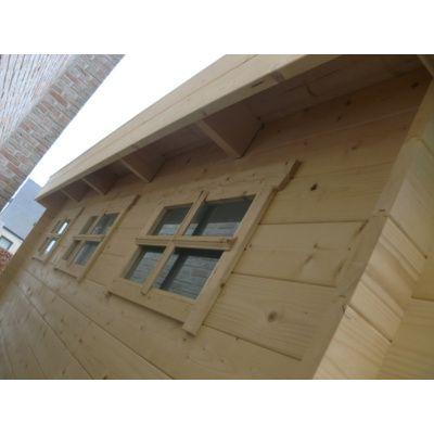 Bild 71 von Azalp Blockhaus Ingmar 350x400 cm, 45 mm