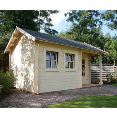 Afbeelding 17 van Azalp CLASSIC blokhut Cottage Style Cumberland 520x430 cm, 45 mm
