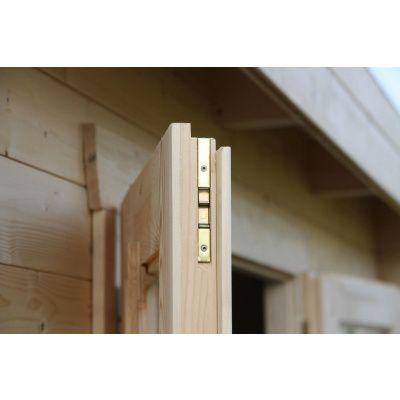 Bild 50 von Azalp Blockhaus Ingmar 300x300 cm, 30 mm