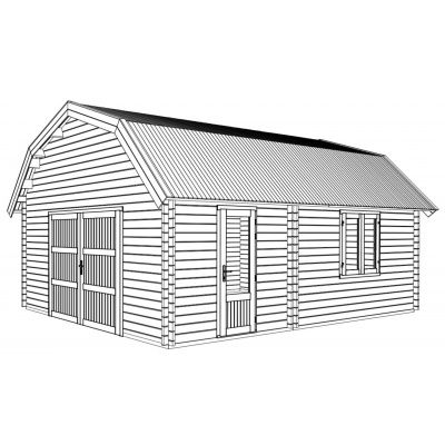 Afbeelding 11 van Graed Mississippi Garage 500x595 cm, 44 mm