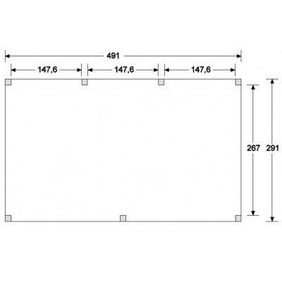 Afbeelding 6 van WoodAcademy Onyx Excellent Douglas Overkapping 500x300 cm