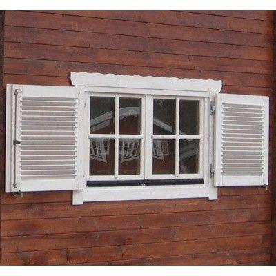 Afbeelding 3 van Azalp Luikenset raam 120x94 cm, lamellen*