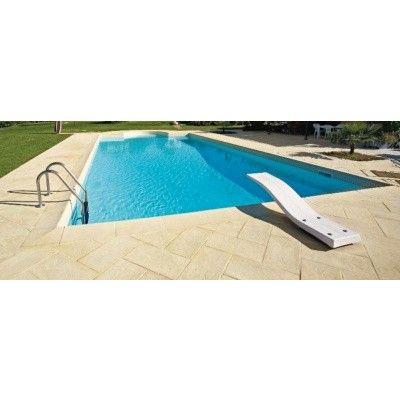 Afbeelding 5 van Trend Pool Boordstenen 700 x 350 cm wit (complete set rechthoek)