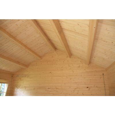 Afbeelding 10 van Azalp CLASSIC blokhut Cottage Style Cumberland 520x430 cm, 45 mm