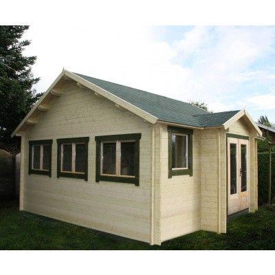 Bild 10 von Azalp Blockhaus Essex 450x400 cm, 45 mm