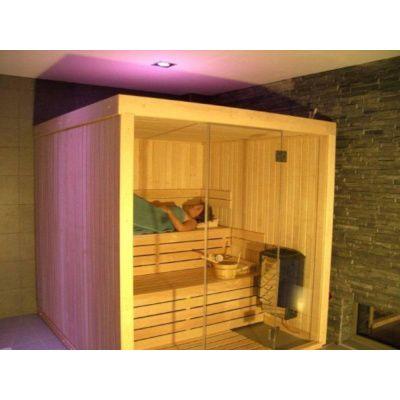 Afbeelding 16 van Azalp Sauna rugleuning Lumen, Elzen