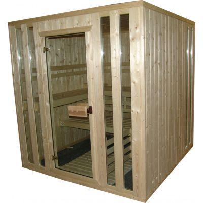 Afbeelding 9 van Azalp massieve sauna Alku 238x173 cm, 40 mm
