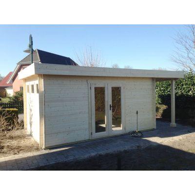 Bild 56 von Azalp Blockhaus Sven 450x450 cm, 30 mm