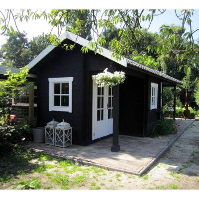 Afbeelding 25 van Azalp CLASSIC blokhut Cottage Style Cumberland 520x430 cm, 45 mm