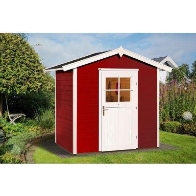 Hoofdafbeelding van Weka Tuinhuis 223 Gr. 1 Zweeds rood
