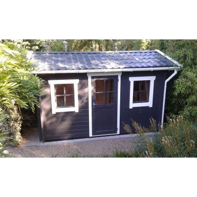 Bild 11 von Azalp Blockhaus Mona 350x400 cm, 30 mm