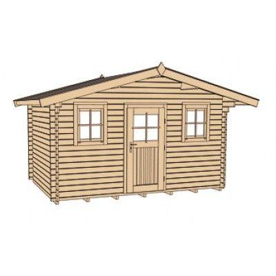 Bild 3 von Weka Weekendhaus 138 Gr. 2 mit Vordach 60cm