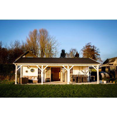 Bild 7 von Azalp Blockhaus Ben 650x650 cm, 60 mm