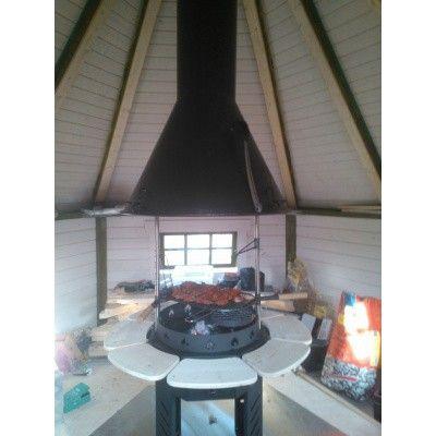 Afbeelding 13 van Azalp Grill met schoorsteen