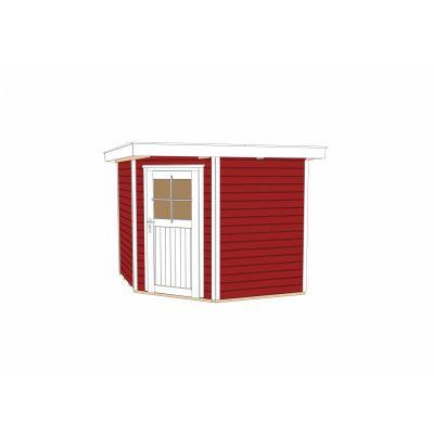 Bild 3 von Weka Gartenhaus 229 Gr. 1 Schwedisch rot