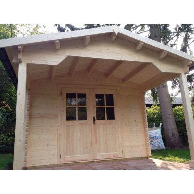 Bild 11 von Azalp Blockhaus Tim 596x400 cm, 45 mm