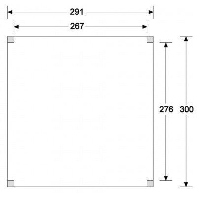 Afbeelding 2 van CarpGarant Overkapping Douglas 300x300 cm (GC133550)