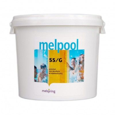 Hoofdafbeelding van Melpool 55/G Chloorgranulaat 5 kg (Chloorshock)