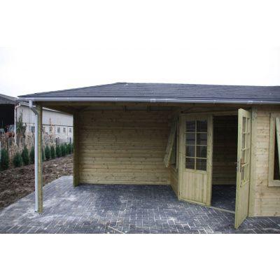 Bild 5 von Interflex Blockhaus 4355 Z, Seitendach 450 cm