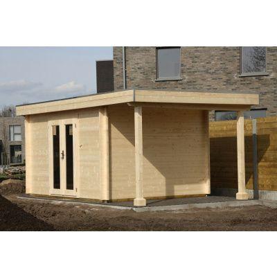 Bild 58 von Azalp Blockhaus Sven 450x500 cm, 45 mm