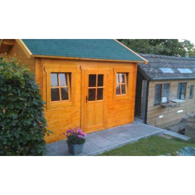 Bild 23 von Azalp Blockhaus Lis 500x400 cm, 45 mm