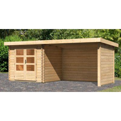 Hoofdafbeelding van Woodfeeling Bastrup 2 met veranda 300 cm (91531)