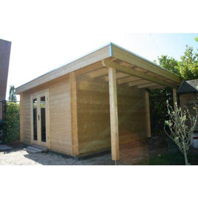 Bild 15 von Azalp Blockhaus Sven 450x450 cm, 30 mm
